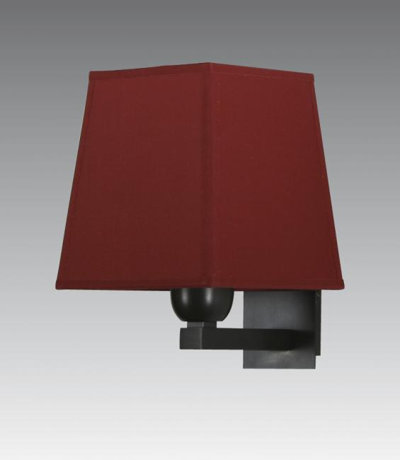 RAMOSE 1 #  in brushed bronze with shade in seta pourpre