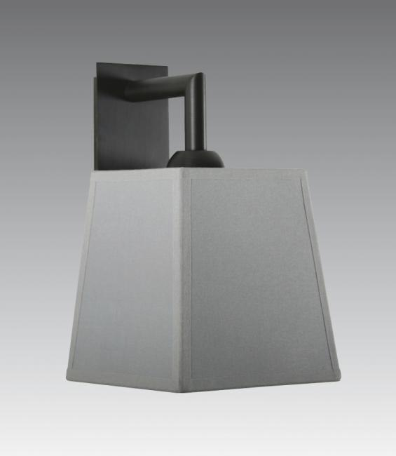 EDFOU 1 #  in brushed bronze with shade in seta argent