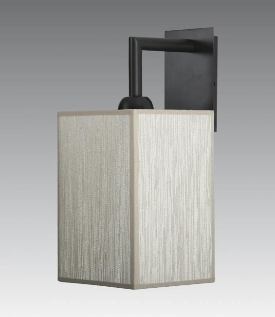 EDFOU 2 # in brushed bronze with shade #13 h20 cm in crémone
