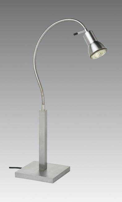 VEGA LAMP in brushed chrome