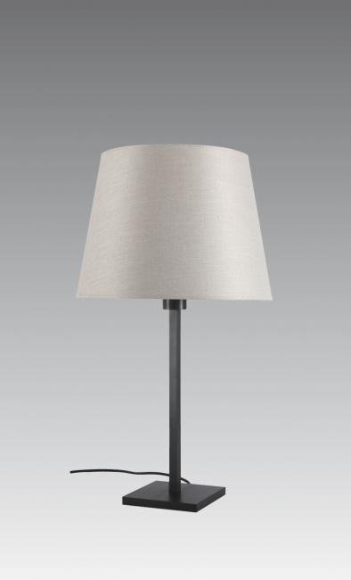 MENNA 2 o in brushed bronze with conical shade in dreams bambou