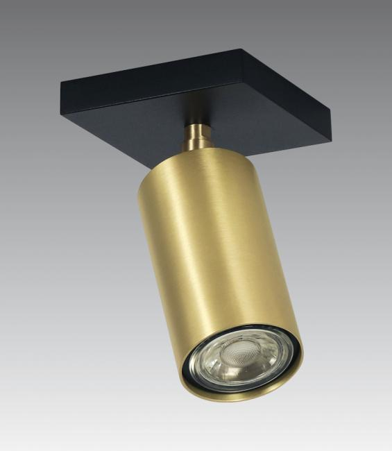 DEIMOS S1 # in structured black and in brushed brass