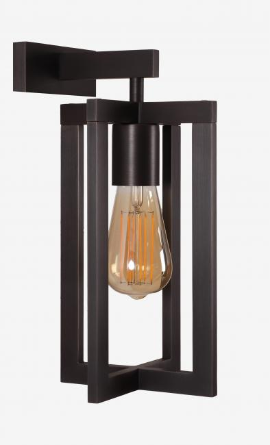 QENA 1 in brushed bronze with elongated decorative bulb of 142mm. Exist in larger size (QENA 2)