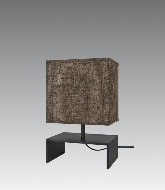 ANKH in brushed bronze with shade in trento noisette