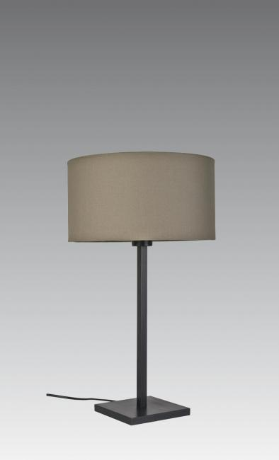 MENNA 2 cyl in brushed bronze with cylindrical shade in coton zinc