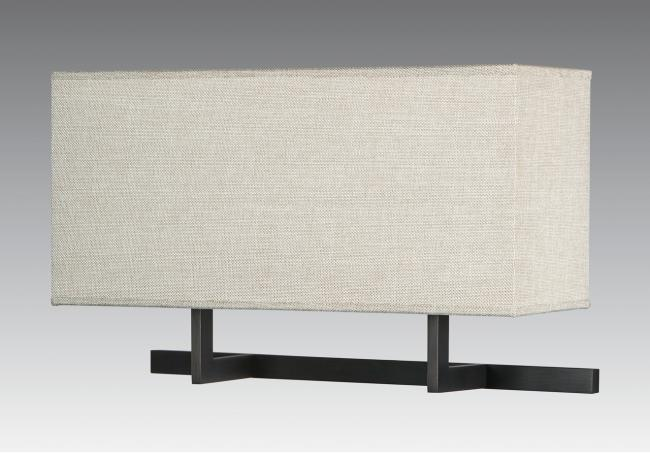 ARMANA 2 in brushed bronze with shade in dreams bambou