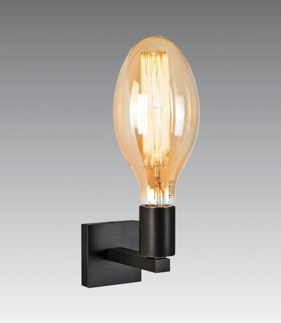 EXPLORER L in geborsteld brons met decoratieve lamp