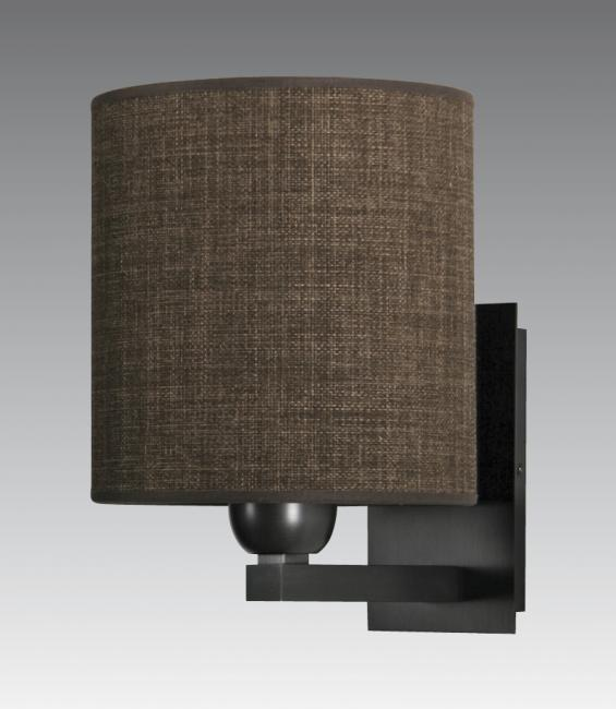RAMOSE 2 cyl in brushed bronze with shade in trento lave